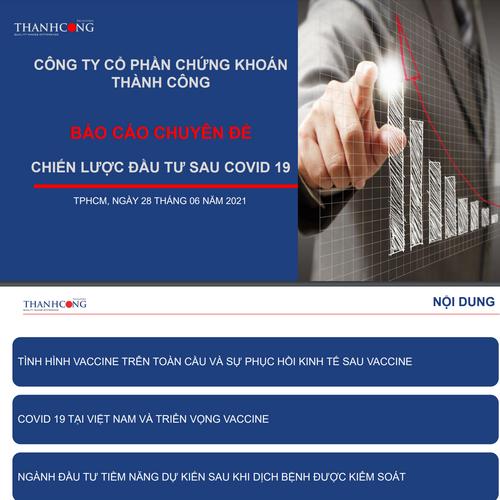 TCSC: Chiến lược đầu tư sau Covid-19