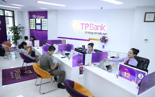 TPBank lãi 3.007 tỷ đồng nửa đầu năm