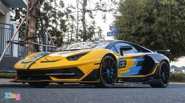 Lamborghini hé lộ phiên bản cuối cùng của dòng siêu xe Aventador