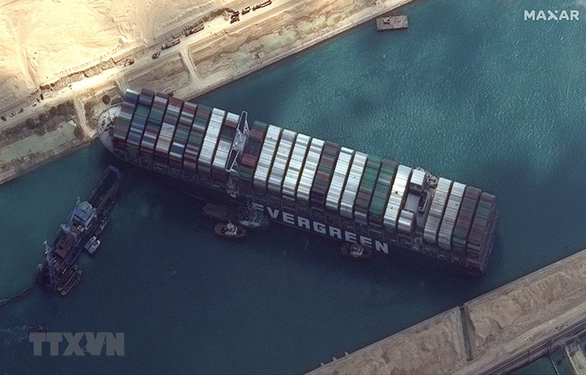 Các bên nhất trí về thỏa thuận phóng thích tàu Ever Given