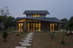 Ngôi nhà xếp mái đặc biệt ở Ba Vì, Hà Nội