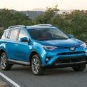 """<p class=""""Normal""""> <strong>5. Toyota Rav4 Hybrid</strong><br /><br /><span>Giá mua xe mới trung bình: 34.995 USD</span><br /><br /><span>Giá mua xe cũ trung bình: 36.352 USD</span><br /><br /><span>Chênh lệch giá: 3,9%, tương đương 1.357 USD</span><br /><br /> (Ảnh: <em>Toyota Rav4 Hybrid/Toyota</em>)</p>"""