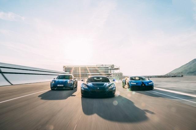 Thương hiệu siêu xe Bugatti chính thức về tay hãng xe điện Croatia