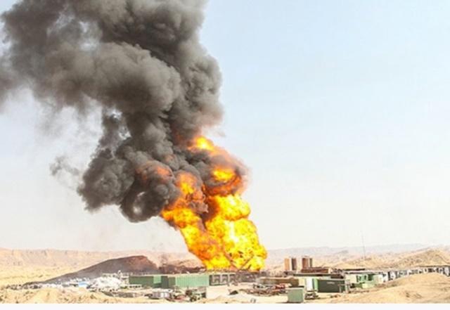 Nổ đường ống dẫn dầu tại Iran