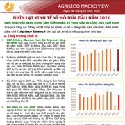 Agriseco: Nhìn lại kinh tế vĩ mô 6 tháng đầu năm 2021