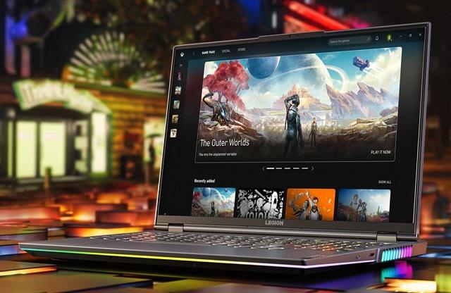 Lenovo ra mắt laptop cao cấp Legion 7 dành cho game thủ