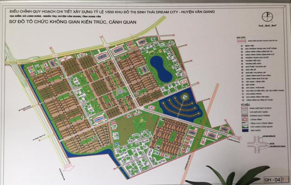 Hưng Yên giao 314 ha đất cho Vinhomes thực hiện dự án Dream City
