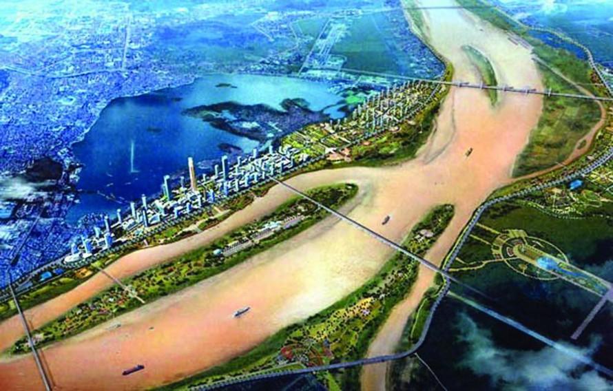 Hà Nội yêu cầu đẩy nhanh quy hoạch đô thị ven sông Hồng