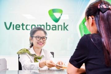 Tín dụng Vietcombank tăng 9,8% trong 6 tháng