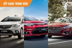 10 ôtô được người Việt mua nhiều nhất nửa đầu năm 2021