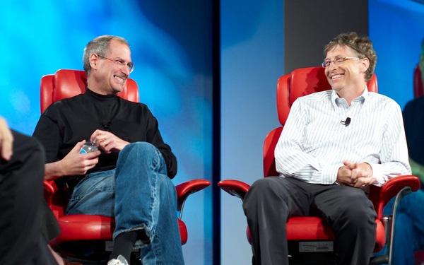 Tài năng của Steve Jobs khiến Bill Gates kinh ngạc