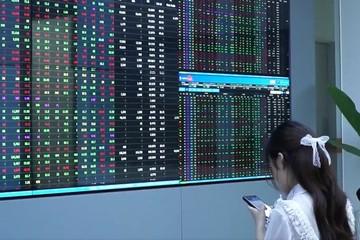 Cổ phiếu chứng khoán đồng loạt bứt phá, VN-Index tăng điểm nhẹ