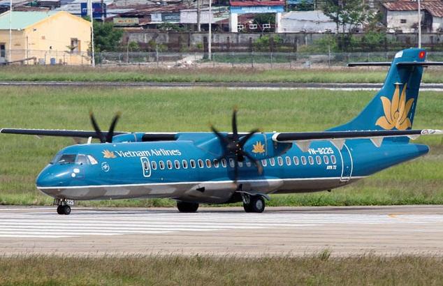 Dòng tàu bay ATR72. Ảnh: Vietnam Airliné