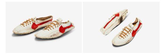 Giày Nike được bán giá một triệu USD