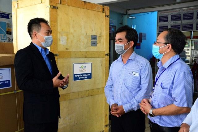 Novaland chung tay cùng Bình Thuận chống dịch Covid-19