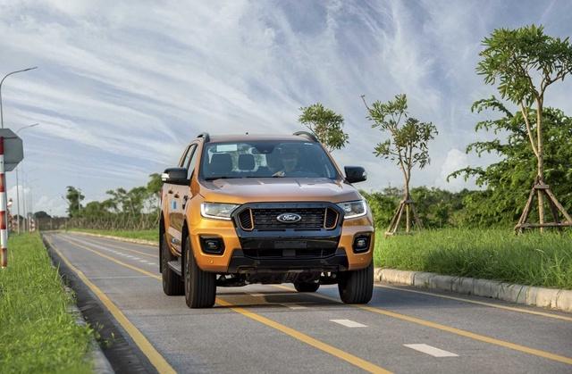 Ford Ranger 2021 lắp ráp tại Việt Nam ra mắt, giá không đổi