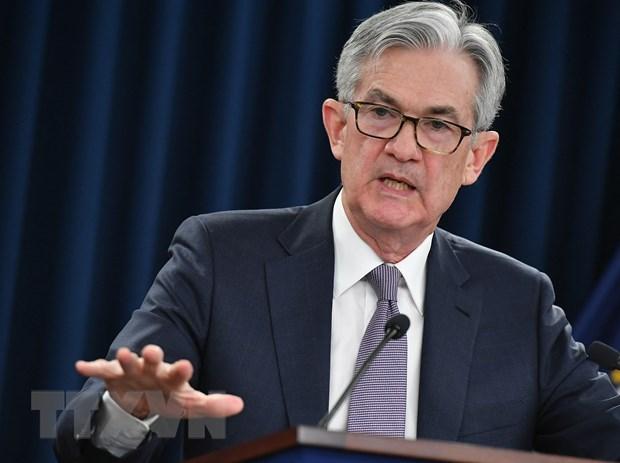 Chủ tịch Ngân hàng Dự trữ Liên bang Mỹ (Fed) Jerome Powell. (Nguồn: AFP/TTXVN)