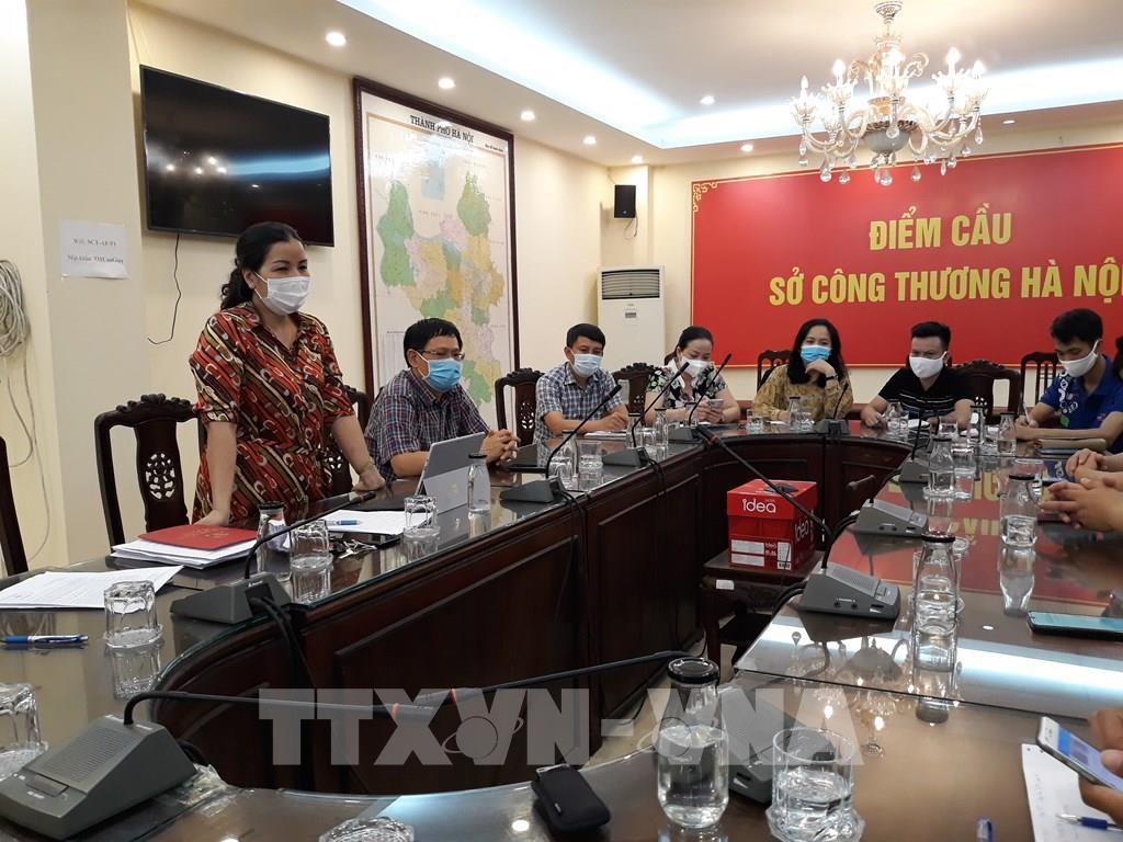 Hà Nội tăng 30-50% lượng hàng thiết yếu phục vụ người dân