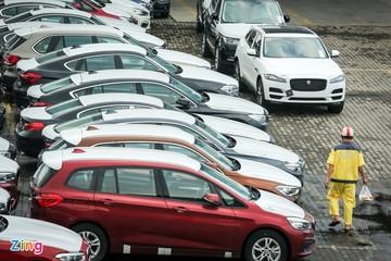 Đầu năm 2021, ôtô nhập khẩu về Việt Nam tăng gấp đôi