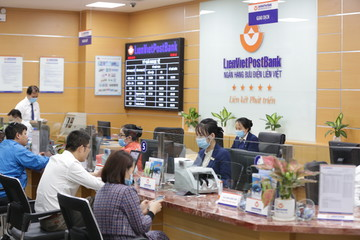 Lãi trước thuế LienVietPostBank 6 tháng gấp đôi cùng kỳ