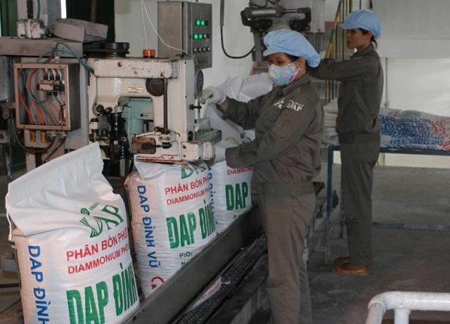 DAP Vinachem tiếp tục lãi đậm quý II nhờ sản lượng và giá bán cùng tăng cao