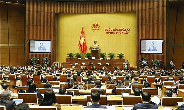 Sáng nay khai mạc kỳ họp thứ nhất, Quốc hội khóa XV