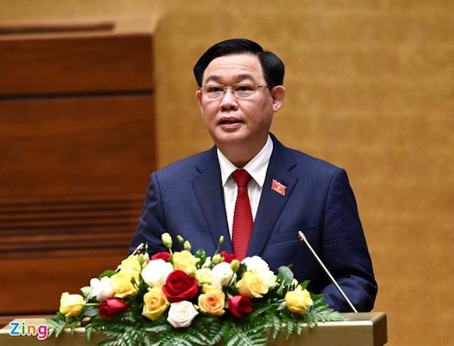 Ông Vương Đình Huệ trở thành Chủ tịch Quốc hội khóa XV.