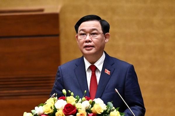 Ông Vương Đình Huệ được bầu làm Chủ tịch Quốc hội khóa XV