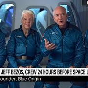 Jeff Bezos trả lời độc quyền CNN trước chuyến bay lên vũ trụ tối nay: 'Bạn bè khuyên tôi đừng đi!'