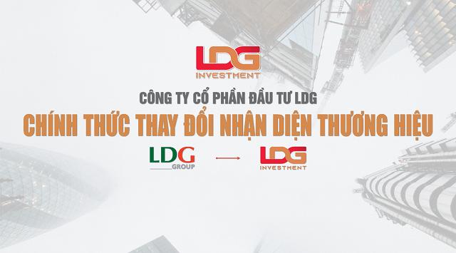 Đầu tư LDG thay đổi hệ thống nhận diện thương hiệu mới
