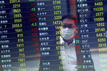 Chứng khoán châu Á giảm sau phiên lao dốc của Phố Wall