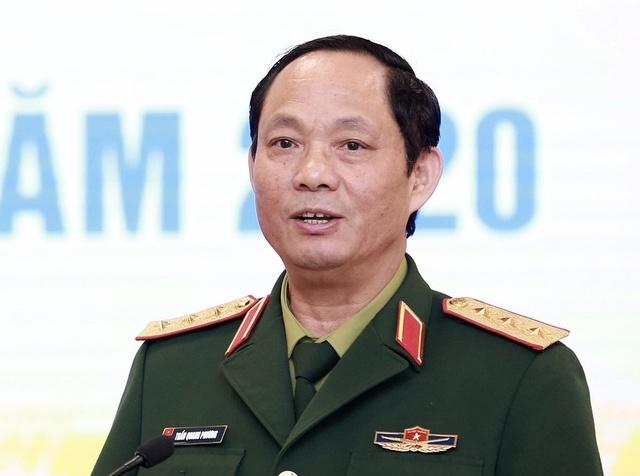 Thượng tướng Trần Quang Phương, Phó chủ nhiệm Tổng cục Chính trị QĐND Việt Nam.