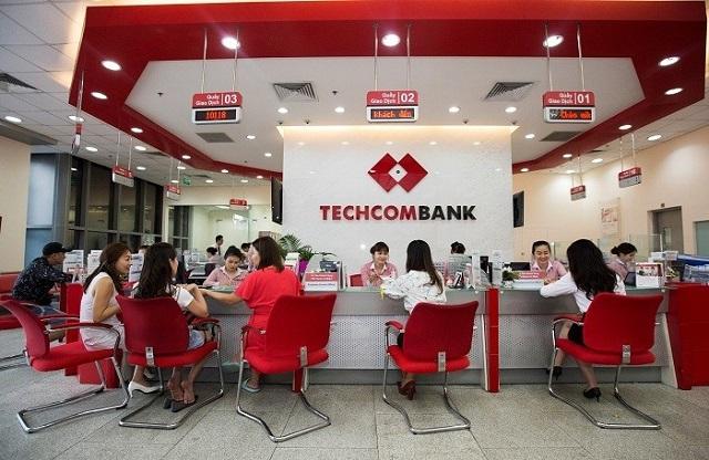 Tín dụng Techcombank tăng 11% trong 6 tháng