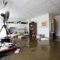 """<p class=""""Normal""""> Tại Hà Lan, nơi giáp ranh với các vùng chịu lũ lụt của Đức và Bỉ, bức tranh toàn cảnh lại trái ngược. Hà Lan cũng ghi nhận tình trạng mưa lớn, chịu thiệt hại nhưng các thị trấn không bị ngập hoàn toàn và không có người thiệt mạng.</p> <p class=""""Normal""""> Nhà chức trách có chuẩn bị tốt để liên lạc với người dân nhanh chóng, theo giáo sư Jeroen Aerts, đứng đầu phòng Rủi ro Khí hậu và Nguồn nước tại Đại học Vrije Universiteit, Amsterdam.</p> <p class=""""Normal""""> Bên trong một ngôi nhà bị ngập ở Guelle, Hà Lan, ngày 16/7. Ảnh: <em>Reuters.</em></p>"""
