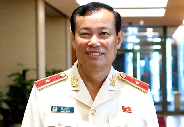 Tân Chủ nhiệm Ủy ban Quốc phòng An ninh, Thiếu tướng Lê Tấn Tới.