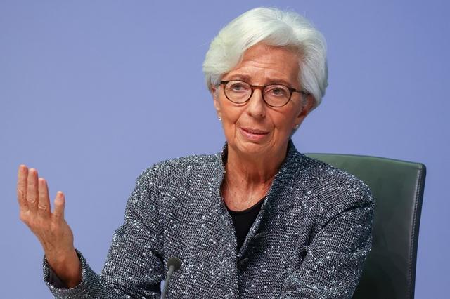 Chủ tịch ECB Christine Lagarde. Ảnh: CNBC.