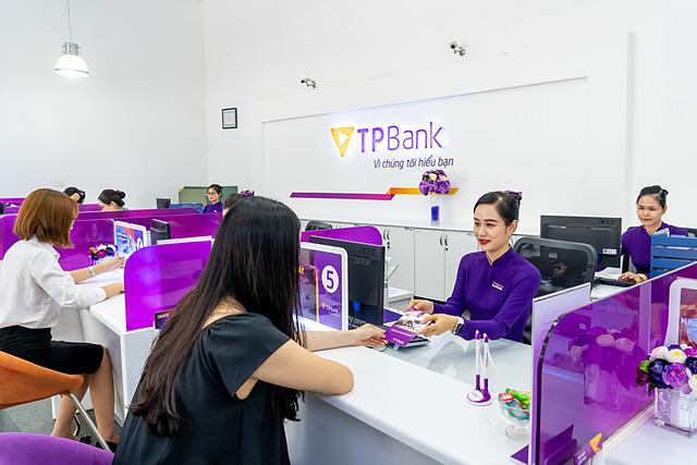 Ngân hàng lãi trước thuế tăng 50% so với nửa đầu năm 2020. Ảnh: TPBank.