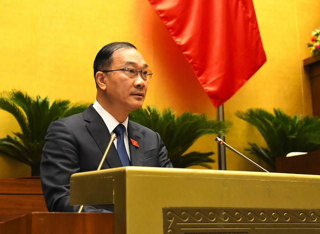 Chủ nhiệm Ủy ban Kinh tế Nguyễn Hồng Thanh