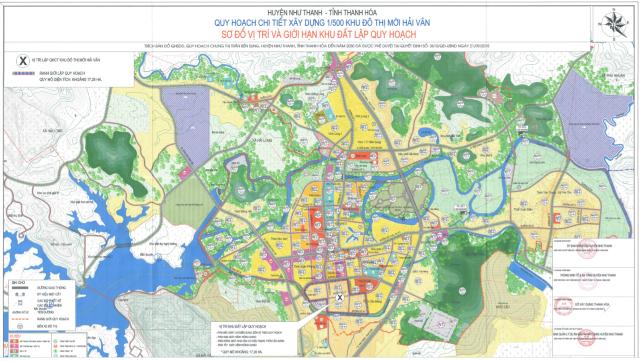 Thanh Hóa chấp thuận chủ trương đầu tư khu đô thị 940 tỷ đồng ở huyện Như Thanh