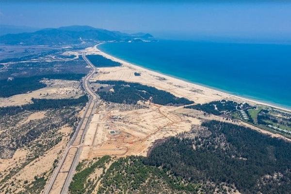 Bình Định xin ý kiến về dự án khu đô thị biển có sân golf rộng hơn 1.164 ha