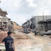 Hàng chục căn nhà phố và shophouse không phép 'mọc' trong dự án, Thanh tra Chính phủ chỉ loạt sai phạm