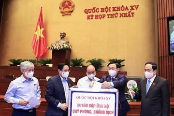 Bổ sung nội dung về phòng, chống dịch Covid-19 vào Nghị quyết của kỳ họp thứ nhất, Quốc hội khóa XV