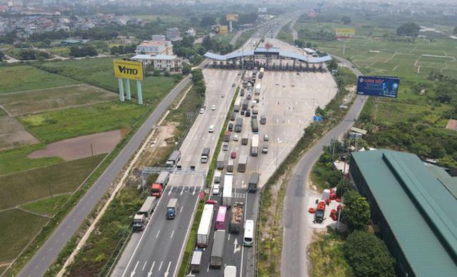 Hà Nội công bố 16 luồng xanh giao thông kết nối với luồng xanh quốc gia.