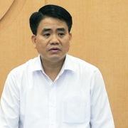 Ông Nguyễn Đức Chung bị khởi tố trong vụ án ở Sở Kế hoạch & Đầu tư