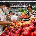 <p> Quầy trái cây cũng được nhiều khách hàng quan tâm chọn lựa. Có khá nhiều loại trái cây trong và ngoài nước được bày bán, giá cả không có nhiều biến động.</p>