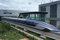 Trung Quốc ra mắt tàu cao tốc đệm từ nhanh nhất thế giới