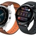 """<p class=""""Normal""""> <strong>Huawei Watch 3 series (9,99 – 12,99 triệu đồng)</strong></p> <p class=""""Normal""""> Huawei ra hai mẫu smartwatch mới: Watch 3 và Watch 3 Pro. Smartwatch mới của Huawei vẫn sử dụng thiết kế mặt tròn cổ điển. Watch 3 có thêm vòng xoay đa chức năng tương tự Digital Crown của Apple Watch với phản hồi xúc giác và một nút bấm. Watch 3 Pro được làm bằng các chất liệu cao cấp, như Titanium, Ceramic và Shaphire thay vì thép không rỉ và kính cường lực như bản thường. Cả hai đều có khả năng chống nước 5 ATM. Watch 3 series được trang bị màn hình AMOLED 1,43 inch, độ phân giải 466 x 466 pixel, mật độ điểm ảnh 326 ppi. Màn hình của máy có độ sáng 1.000-nit dễ dàng hiển thị ngoài trời nắng. Huawei cũng tăng tốc độ làm tươi lên 60 Hz.</p> <p class=""""Normal""""> Huawei trang bị chipset Hi6262 hỗ trợ kết nối 4G, RAM 2 GB và bộ nhớ trong 16 GB. Watch 3 series hỗ trợ eSIM, LTE, Wi-Fi và GPS. Sản phẩm được trang bị nhiều cảm biến, như cảm biến nhịp tim, SpO2 và đặc biệt là cảm biến nhiệt độ cơ thể, cho phép người dùng theo dõi các chỉ số theo thời gian thực. Tính năng thể dục hỗ trợ hơn 100 chế độ tập luyện và cũng có thể theo dõi hiệu suất VO2max. Watch 3 series cũng là thiết bị đeo đầu tiên của Huawei chạy hệ điều hành Harmony OS cho phép cài được ứng dụng từ App Gallery.</p> <p class=""""Normal""""> Watch 3 có thể sử dụng 3 ngày liên tục với chế độ 4G và 14 ngày ở chế độ siêu tiết kiệm pin. Bản Pro có pin lớn hơn, cho phép sử dụng 5 ngày liên tục với chế độ 4G và 21 ngày ở chế độ siêu tiết kiệm pin. Hai mẫu đồng hồ này có nhiều phiên bản khác nhau.</p>"""