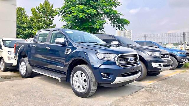 Ford Ranger 2021 lắp ráp trong nước giảm giá ngay sau khi về tới đại lý