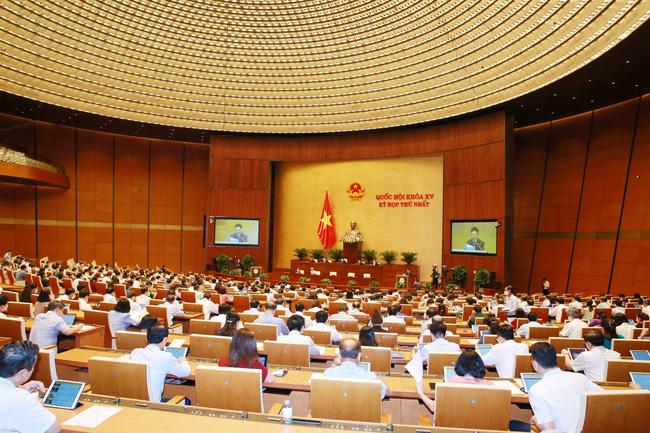 Quốc hội thảo luận về kinh tế - xã hội, phòng chống Covid-19