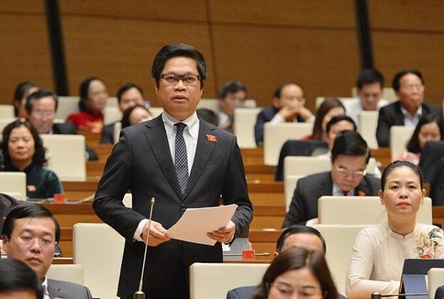 Ông Vũ Tiến Lộc - Chủ tịch Phòng Thương mại & Công nghiệp Việt Nam (VCCI). Ảnh: Trung tâm báo chí Quốc hội